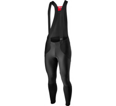 Castelli Fietsbroek lang met bretels Rain or Shine Heren Zwart - Sorpasso RoS Wind Bibtight Black