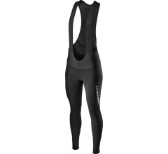 Castelli Fietsbroek lang met bretels Heren Zwart - Entrata Wind Bibtight Black