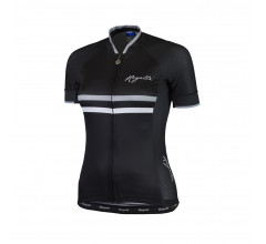 ROGELLI ISPIRA fietsshirt Dames Zwart  Wit