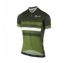 Rogelli Fietsshirt korte mouwen Dames Groen Wit / Dot- Fietsshirt korte mouwen