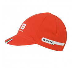 Sportful Team Cap / Fietsmuts Vuurrood