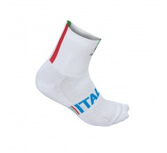 Sportful Italia 12 Sock / Fietssok Wit