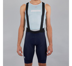 Sportful Fietsbroek kort met bretels - koersbroek Heren Blauw  - LTD BIBSHORT BLUE