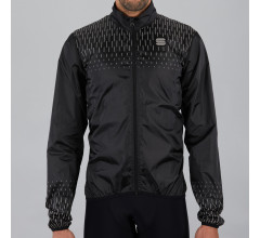 Sportful Fietsjack Heren Zwart  - REFLEX JACKET BLACK