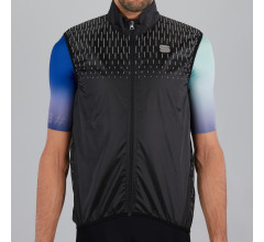 Sportful Windstopper mouwloos Heren Zwart  - REFLEX VEST BLACK