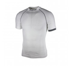 Rogelli Compression Ondershirt Korte Mouwen Heren Wit