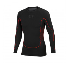 Sportful Ondershirt lange mouwen Heren Zwart / 2Nd Skin LS Top-Black-