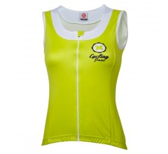 21Virages Wielershirt dames Sleeveless-Lime