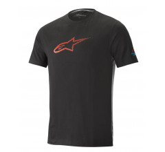 Alpinestars MTB T-shirt Heren Zwart Oranje / AL Ageless Tech Tee-Black Energy Orange