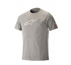 Alpinestars MTB T-shirt Heren Grijs Wit / AL Ageless Tech Tee-Melange Steel Gray White