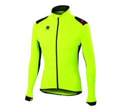 Sportful regenjack Heren fluo / SF Hot Pack No-Rain Jacket-Yellow Fluo/Black
