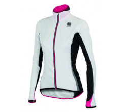 Sportful Shell W Jacket / Fietsjack Dames White/Black *