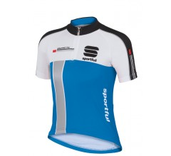 Sportful KID Gruppetto Jersey / Kinder Fietsshirt Electric Blue