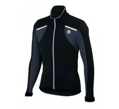 Sportful Alpe 2 SoftShell Jacket / Fietsjack Black/Anthracite-Reflex