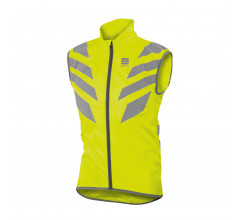 Sportful Windstopper mouwloos Heren Fluo  / SF Reflex Vest-Yellow Fluo