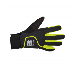 Sportful Fietshandschoenen winter Heren Zwart Fluo / SF Sotto Zero Glove-Black/Yellow Fluo