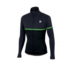 Sportful Fietsjack Heren Zwart Fluo / SF Giara Softshell Jacket-Black/Green Fluo