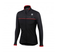 Sportful Fietsjack Heren Zwart Grijs / SF Giro Softshell Jacket-Black/Anthracite/Red