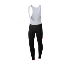 Sportful Giro Bib Tight / Fietsbroek Zwart Rood