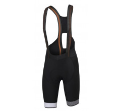 Sportful Fietsbroek Heren Zwart Wit / SF Bodyfit Pro Ltd Bibshort Black/White