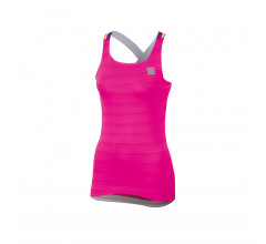 Sportful Fietsshirt korte mouwen Dames Roze Paars / SF Grace Top-Bubble/Vict/Purple