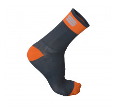 Sportful Fietssokken winter Heren Zwart Oranje / Bodyfit Pro 12 Sock-Black/Orange Sdr-