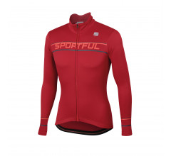 Sportful Fietsshirt lange mouwen Heren Rood / Giro Thermal Jersey-Red