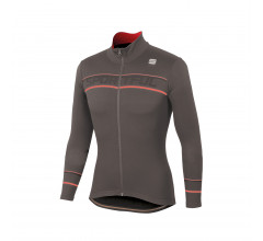 Sportful Fietsshirt lange mouwen Heren Bruin / SF Giro Thermal Jersey-Titanium Brown