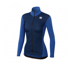 Sportful Fietsjack Dames Blauw / SF Crystal Thermo Jacket-Blue Cosmic