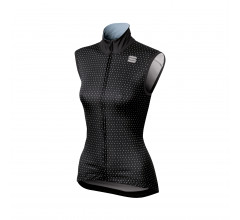 Sportful Windstopper Dames Zwart / SF Cometa Wind Vest-Black/White
