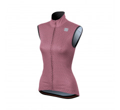 Sportful Windstopper Dames Roze Zwart / SF Cometa Wind Vest-Heather Rose/Black
