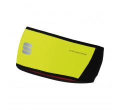 Sportful Haarband Heren fluo Zwart / SF Ws Headband-Yellow Fluo/Black