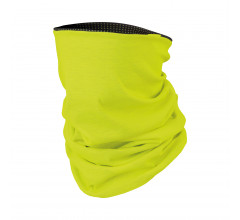 Sportful Bandana Heren Zwart Grijs / SF Thermal Neck Warmer-Black/Anthr/Yellow Fl