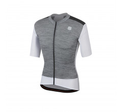 Sportful Fietsshirt korte mouwen Heren Wit  / SF Supergiara Jersey-White