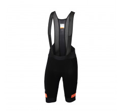 Sportful Fietsbroek met bretels - koersbroek Heren Zwart Oranje / SF Supergiara Bibshort-Black/Orange Sdr