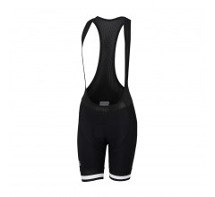 Sportful Fietsbroek met bretels - koersbroek Dames Zwart Wit / SF Bf Classic W Bibshort-Black/White