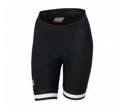 Sportful Fietsbroek zonder bretels Dames Zwart Wit / SF Bf Classic W Short-Black/White