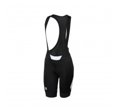 Sportful Fietsbroek met bretels - koersbroek Dames Zwart Wit / SF Neo W Bibshort-Black/White