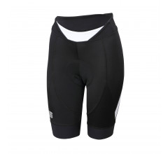 Sportful Fietsbroek zonder bretels Dames Zwart Wit / SF Neo W Short-Black/White