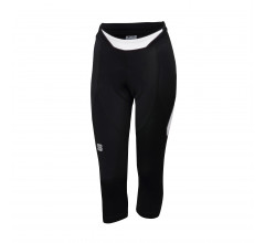 Sportful Fietsbroek 3/4 zonder bretels Dames Zwart Wit / SF Neo W Knicker-Black/White
