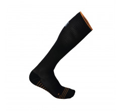 Sportful Fietssokken zomer Heren Zwart Oranje / SF Recovery Sock-Black/Orange Sdr