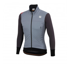 Sportful Fietsjack waterafstotend Heren Grijs Grijs / Fiandre Strato Wind Jacket-Cement/Anthracite