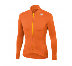 Sportful Fietsshirt lange mouwen Heren Oranje / Monocrome Thermal Jersey-Orange Sdr