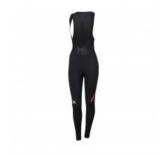 Sportful Fietsbroek lang met bretels Dames Zwart / Fiandre Norain W Bibtight-Black