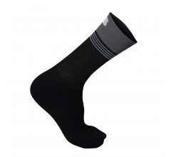 Sportful Fietssokken winter Heren Zwart Grijs / Arctic 18 Sock-Black/Anthracite-