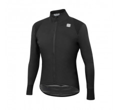 Sportful Fietsjack Lange mouwen Zeer sterk waterafstotend voor Heren Zwart - SF Hot Pack No Rain Jacket Black