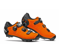 SIDI Fietsschoenen MTB Heren Oranje Zwart / Dragon 5 SRS Matt MTB Matt Orange/Black