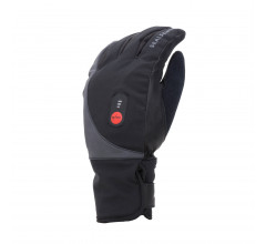 Sealskinz Fietshandschoenen waterdicht voor Heren Zwart  / Waterproof Heated Cycle Glove Black