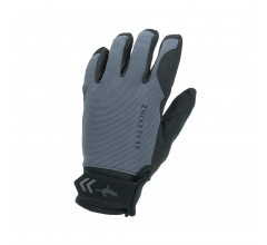 Sealskinz Fietshandschoenen waterdicht voor Heren Grijs Zwart / Waterproof All Weather Glove Grey/Black