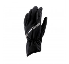 Sealskinz Fietshandschoenen waterdicht voor Heren Zwart  / Waterproof All Weather LED Cycle Glove Black